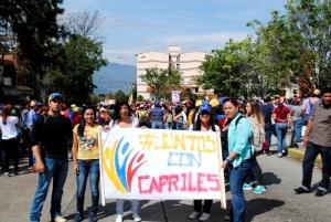 032 MARCHA AL CNE #MERIDA PETICION CONTEO 100% FOTOS CARLOS LOBO