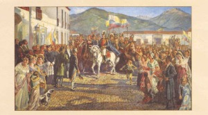 Bolívar en Mérida