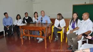 RUEDA DE PRENSA - COMUNICADO DE LAS SOCIEDADES MEDICAS y CIENTIFICAS DEL ESTADO MERIDA - INFLUENZA A ( H1N1 ) (9)