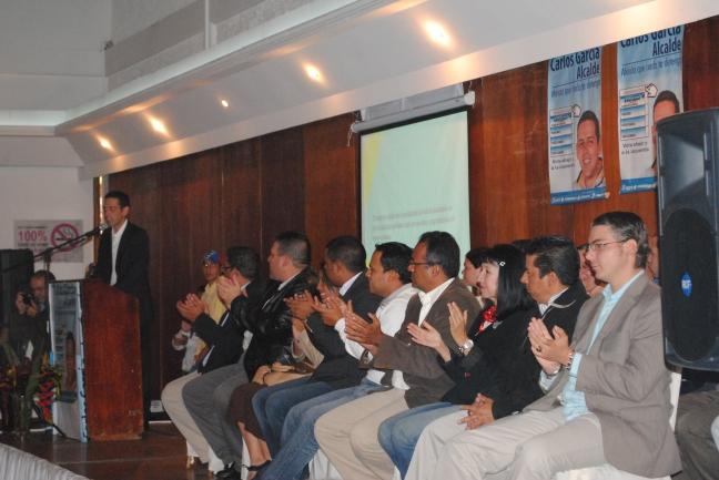 """Carlos García presentó su Plan de Gobierno """"La Mérida Que Queremos"""" junto al equipo de candidatos a Concejales de la Unidad"""
