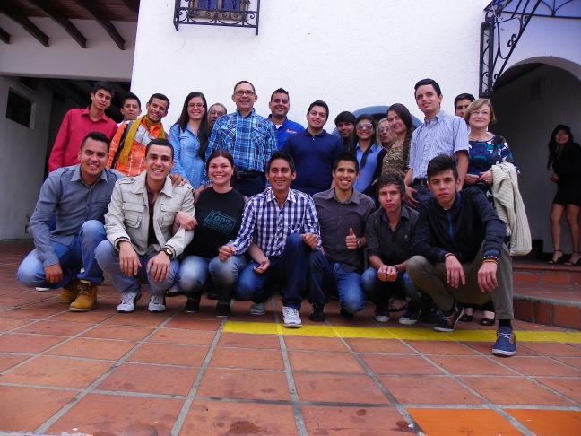Carlos Ramos realizó una jornada de reflexión con jóvenes merideños (Prensa Carlos Ramos)