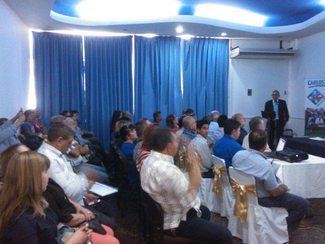El diputado Carlos Ramos ofreció un detallado informe de su gestión que abarcó muchos aspectos nacionales y regionales que involucran a todos los ciudadanos
