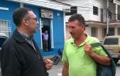 Recorrido por Tovar conversando con los pobladores sobre sus problemas